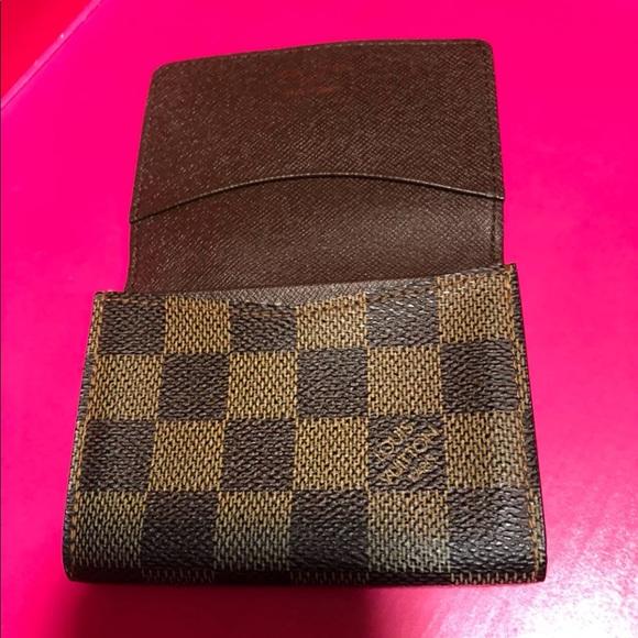 d7b6009fd444 Louis Vuitton Handbags - Louis Vuitton Card Holder Wallet Damier Ebene